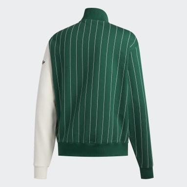 Men Originals Green FA Blocked Sweatshirt