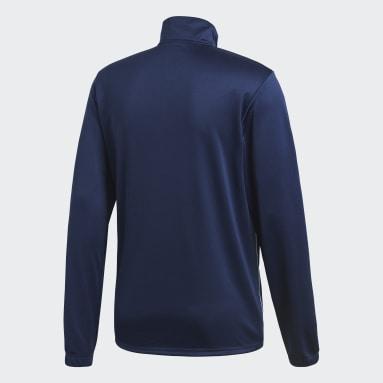 Heren Fitness En Training Blauw Core 18 Trainingsjack