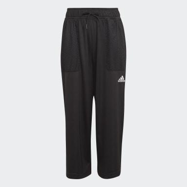 черный Укороченные брюки Dance