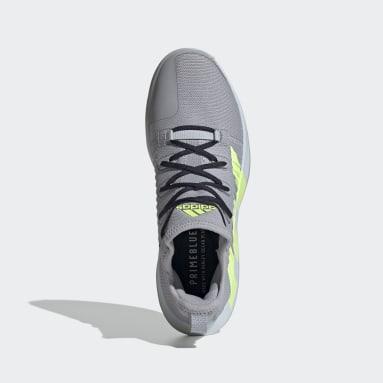 Men's Training Grey Stabil Next Gen Primeblue Handball Shoes