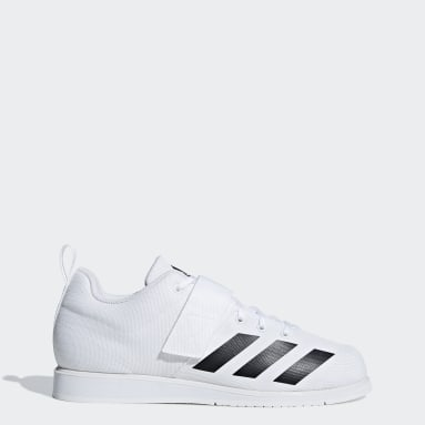 Weightlifting White Powerlift 4 Shoes