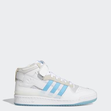 Men Originals White Forum 84 Mid ADV Shoes
