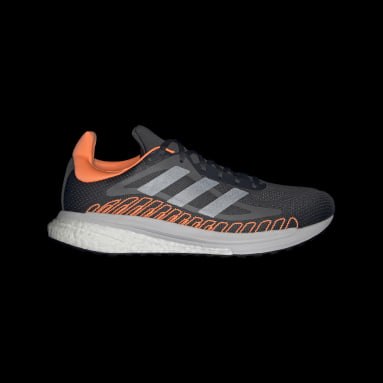 Tenis SolarGlide ST Gris Hombre Running