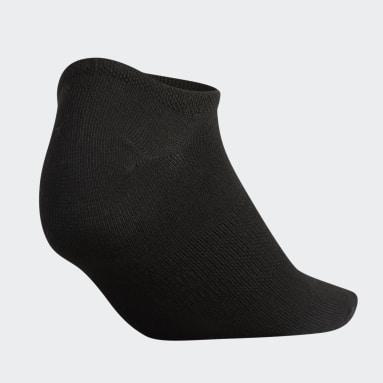 Women's Training Black Superlite No-Show Socks 6 Pairs