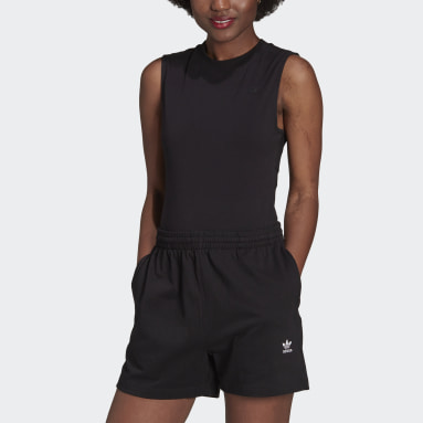 Women's Originals Black Adicolor Single Jersey Bodysuit