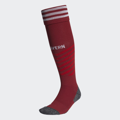 Chaussettes Domicile FC Bayern 21/22 Rouge Football