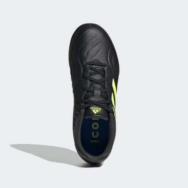 Calzado de Fútbol Copa Sense.3 Pasto Sintético Negro Niño Fútbol