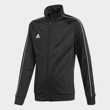 Børn Fitness Og Træning Sort Core 18 jakke