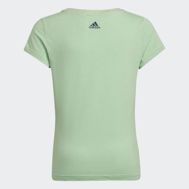 T-shirt Badge of Sport Verde Ragazza Sportswear