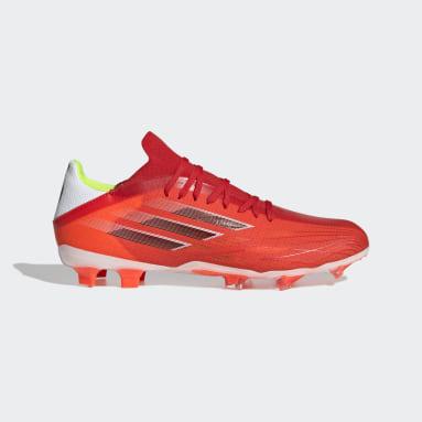 Botas de Futebol X Speedflow.2 – Piso firme Vermelho Futebol