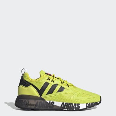 Originals Yellow ZX 2K Boost Shoes