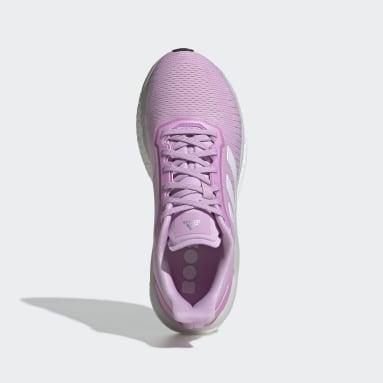 Zapatilla Solar Drive 19 Violeta Mujer Running