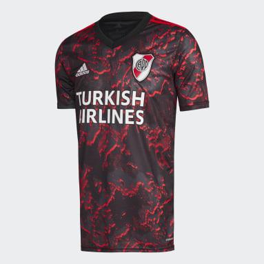 Camiseta Visitante River Plate 21/22 Negro Hombre Fútbol