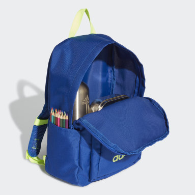 Kinder Running Classic Rucksack Blau