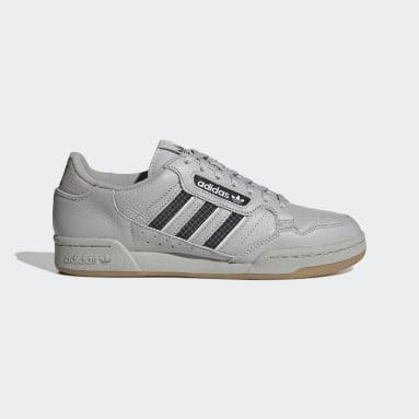 Originals Grey Continental 80 Stripes Shoes