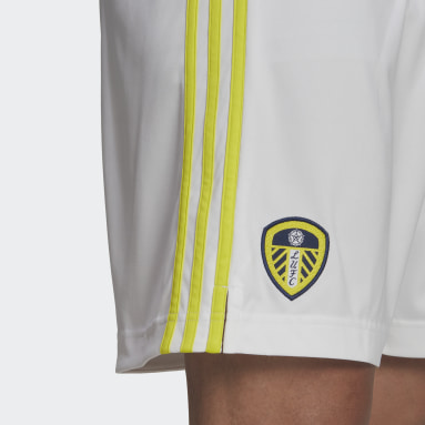 Leeds United FC 21/22 Home Shorts Bialy