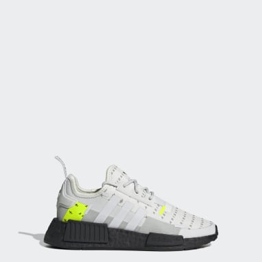 Youth Originals White NMD_R1 Refined Shoes