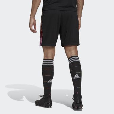 Fußball Juventus Turin 21/22 Auswärtsshorts Schwarz