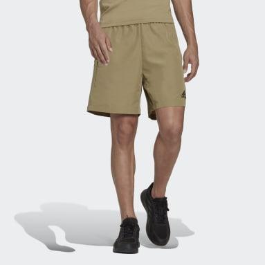 AEROREADY Designed 2 Move Sport Ripstop Shorts Zielony