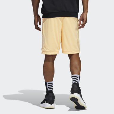 DM SHORT Naranja Hombre Baloncesto