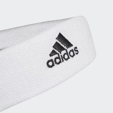 Feldhockey Tennis Stirnband Weiß
