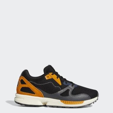 กอล์ฟ สีดำ รองเท้ากอล์ฟแบบไร้ปุ่ม Adicross ZX Primeblue