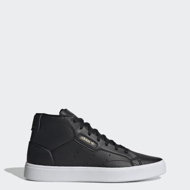 Women Originals Black adidas Sleek Mid Shoes
