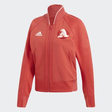 Women Sportswear Red VRCT Jacket