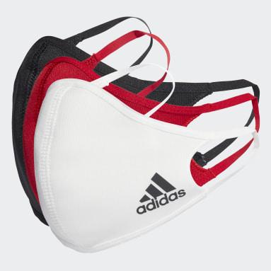 Tréning A Fitnes viacfarebná Rúška Face 3-Pack M/L