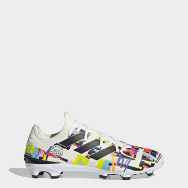 Chaussure Gamemode Knit Terrain souple Blanc Football
