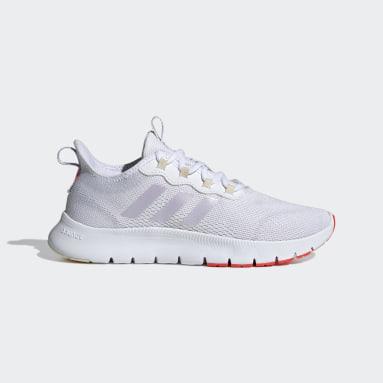 Women's Running White Nario Move Shoes