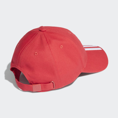 Casquette Manchester United Baseball Rouge Football