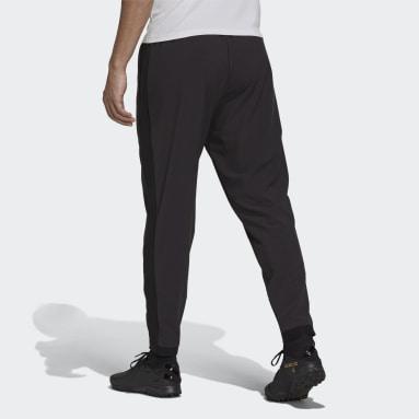 Men Soccer Black Tiro 7/8 Woven Pants