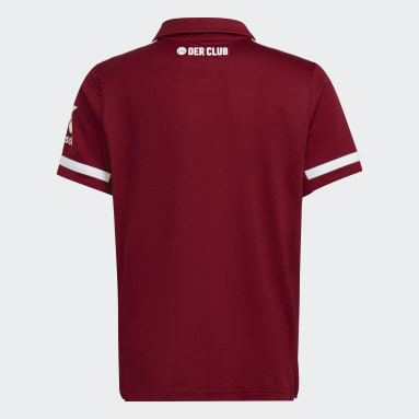 Youth 8-16 Years Football Red FC Nürnberg 21/22 Home Jersey