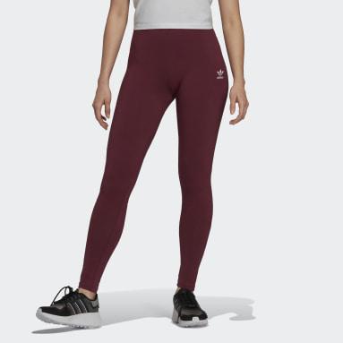 Women Originals Red LOUNGEWEAR Adicolor Essentials Leggings