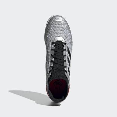 Calzado de Fútbol Predator Tango 19.3 Bajo Techo Plata Hombre Fútbol