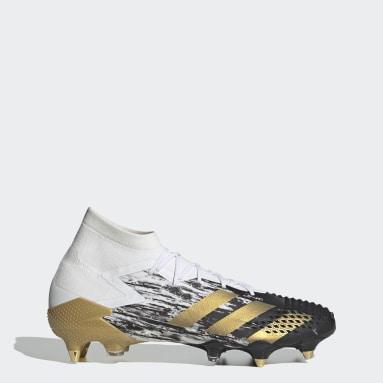 Men Football White Predator Mutator 20.1 Soft Ground Boots