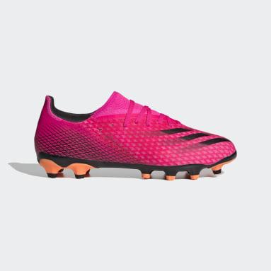Ποδόσφαιρο Ροζ X Ghosted.3 Multi-Ground Boots
