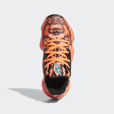 Youth Basketball Orange Harden Vol. 4 Shoes