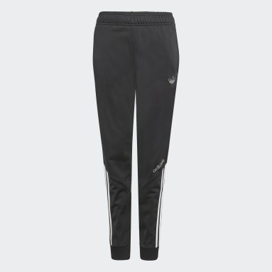 Děti Originals černá Sportovní kalhoty adidas SPRT