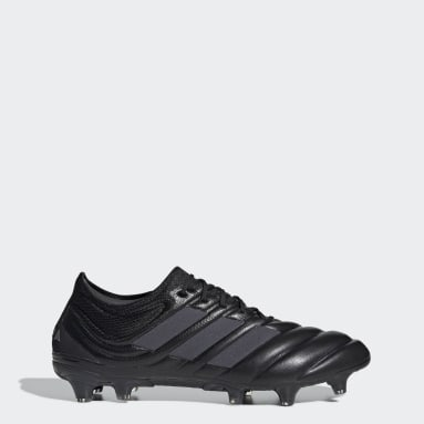 Women Football Black Copa 19.1 Firm Ground Boots