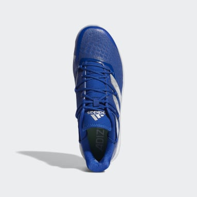 Men's Baseball Blue Adizero Afterburner 8 Turf Shoes