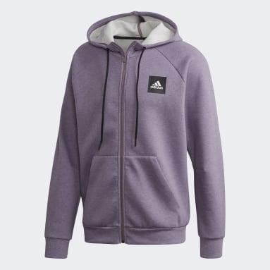 Veste à capuche Must Haves Stadium Violet Hommes Sportswear