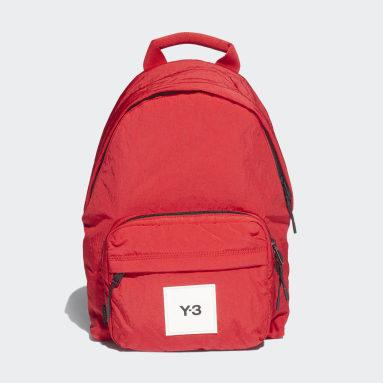 Y-3 Rød Y-3 Techlite Tweak rygsæk