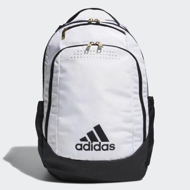 Soccer White Defender Backpack