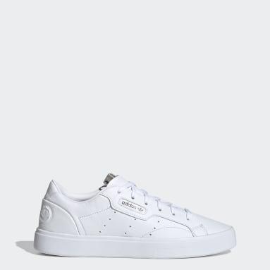 Tênis adidas Sleek Vegan Branco Mulher Originals