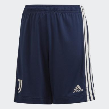 Kids Football Blue Juventus 20/21 Away Shorts