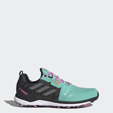 Terrex Agravic GORE-TEX Trail Running Shoes Zielony