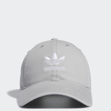 Women's Originals Grey Relaxed Strap-Back Hat