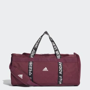 Gym & Training Burgundy 4ATHLTS Duffel Bag Medium